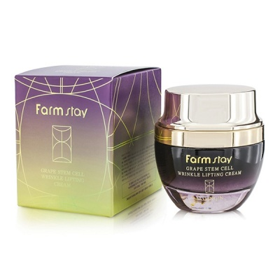 Крем для лица FarmStay Grape Stem Cell Wrinkle Lifting Cream